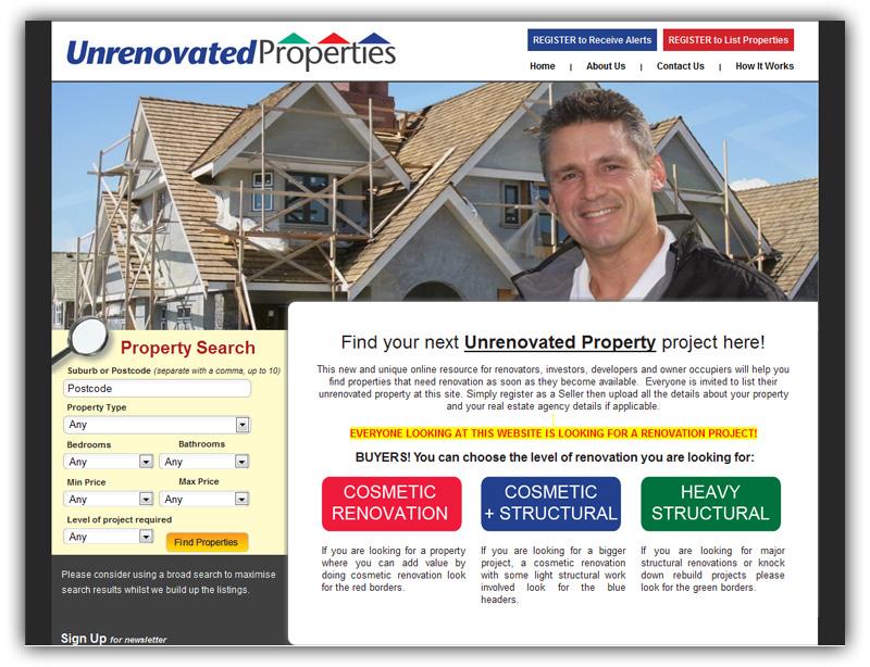 Unrenovated Property